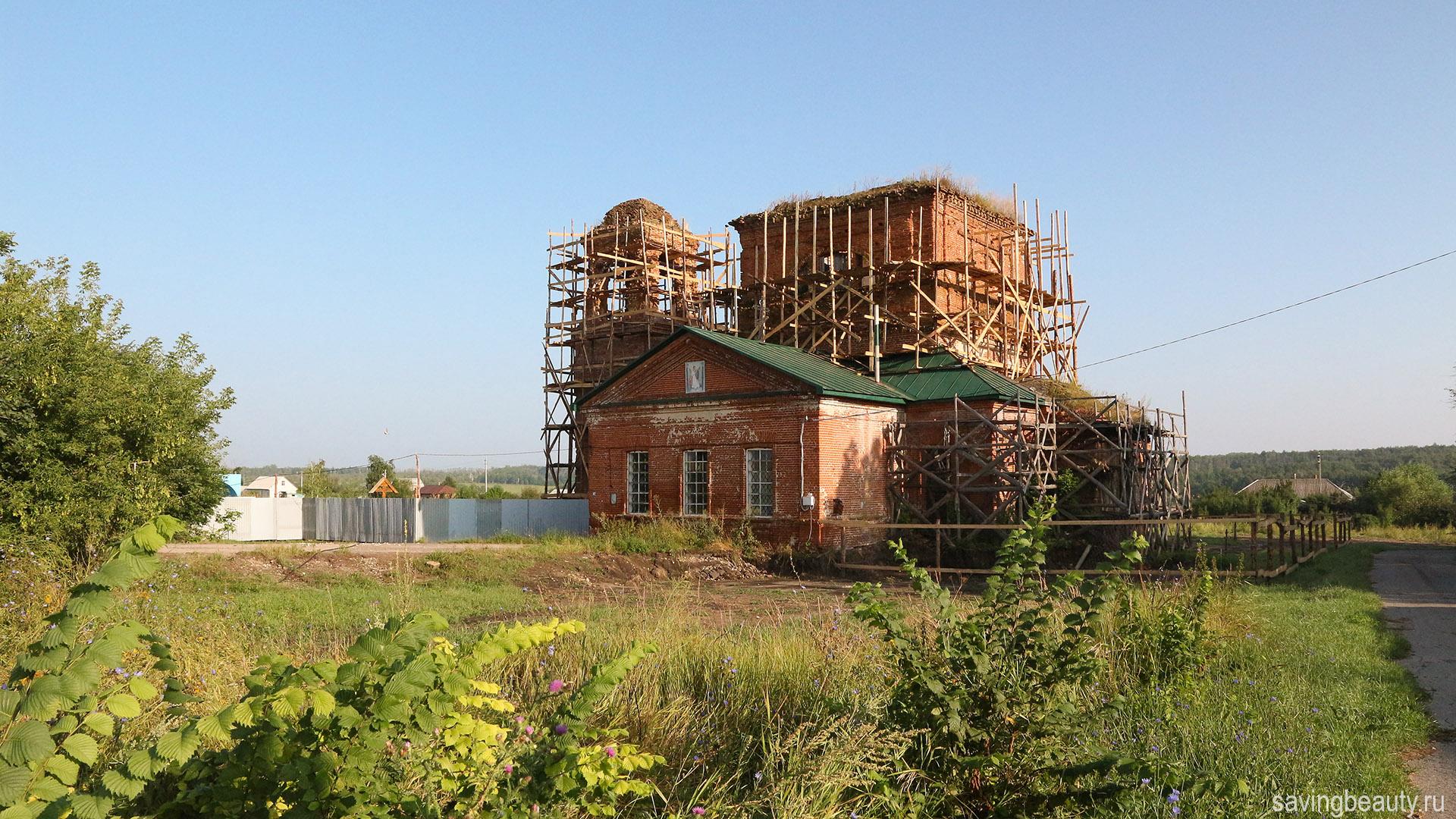 Архангельская церковь. Черниговка