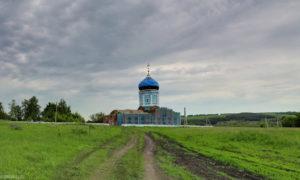 Казанская церковь в тербунах