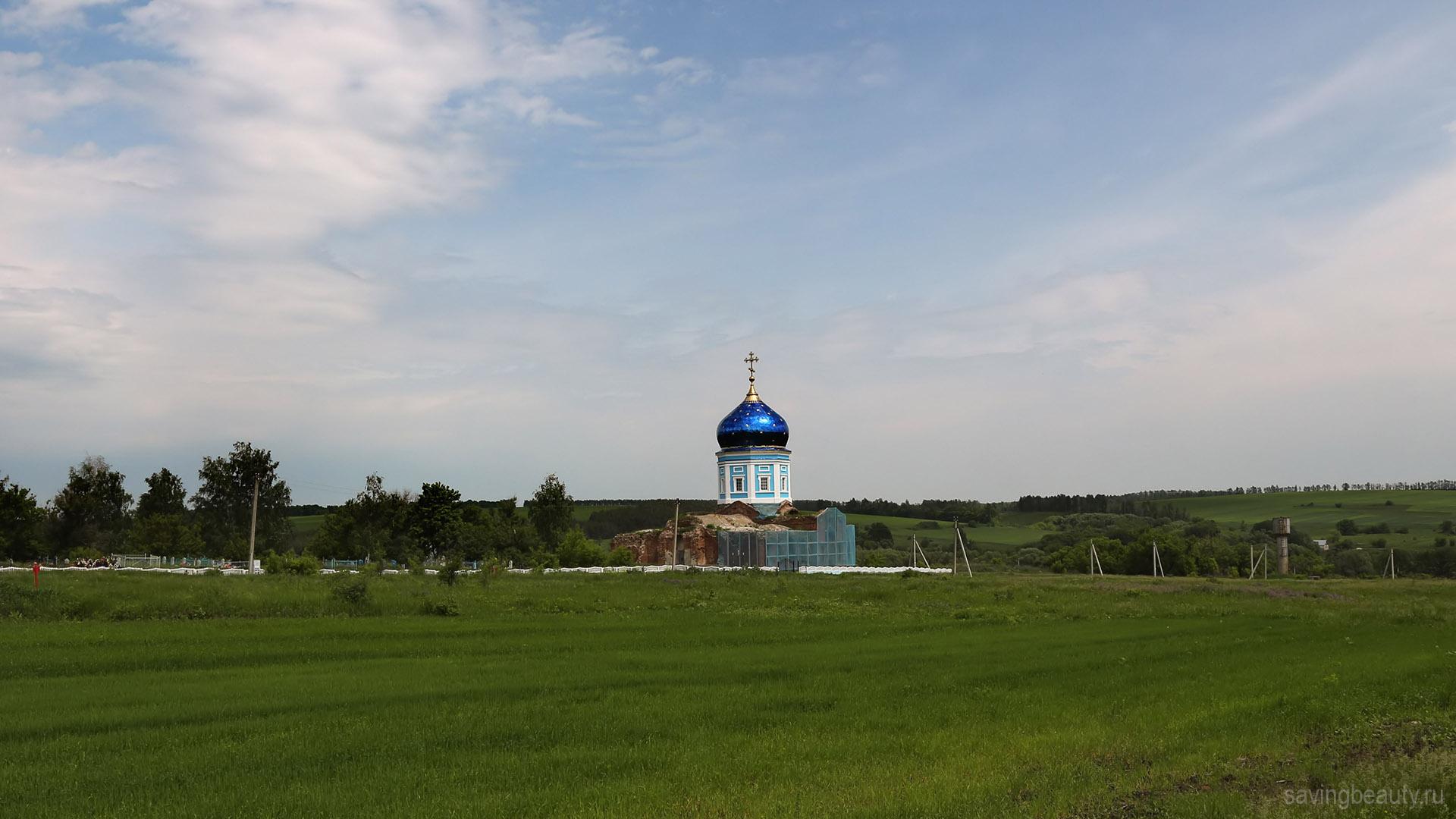 Казанская церковь в Каменке Липецкой области