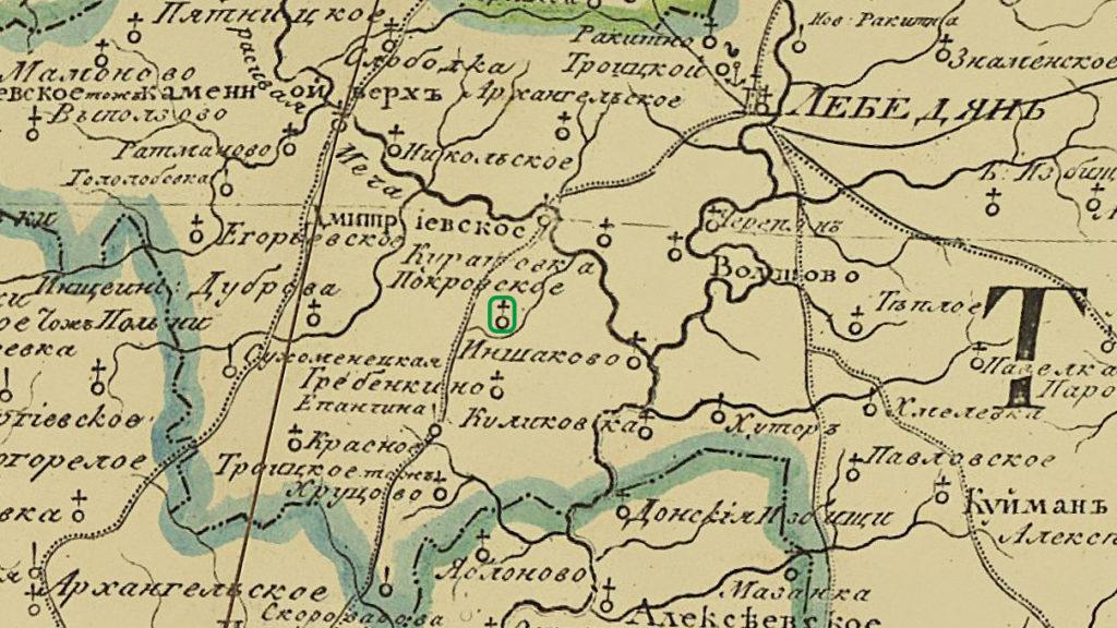 Карта Брусланово Покровское