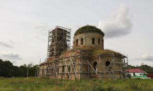 Покровская церковь в Верхнем Брусланове