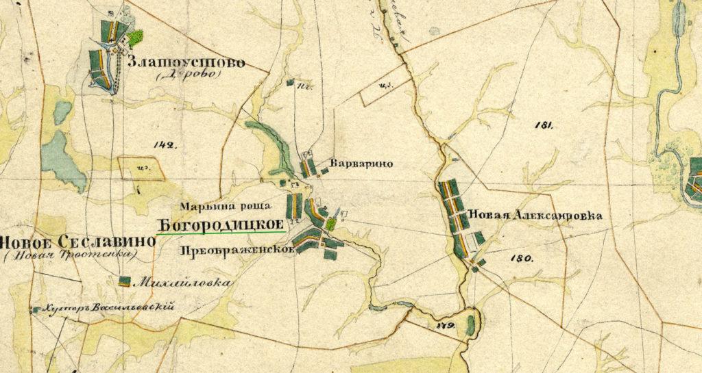 Карта Менде Староюрьевский район