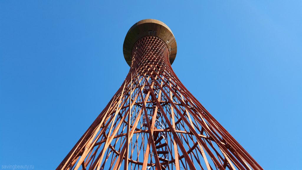 Шуховская башня в Полибино