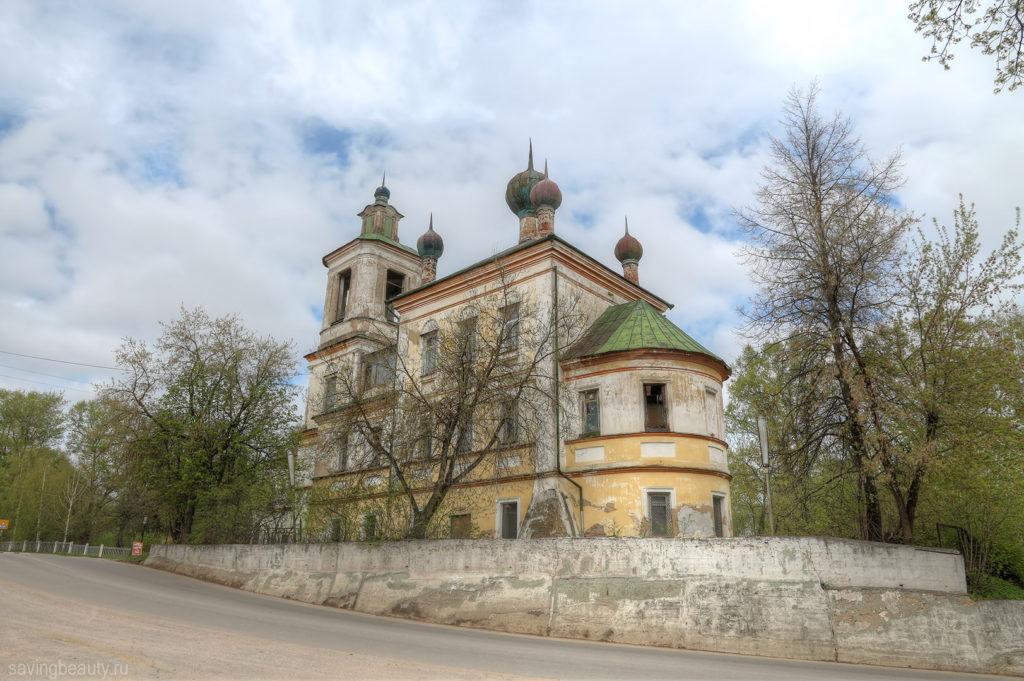 Георгиевская церковь, ныне используется под офисные помещения