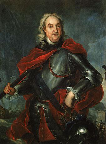 Фотография портрета Ф.М. Апраксина кисти Таннауэра